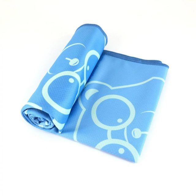 88熊冰凉毛巾(蓝色)