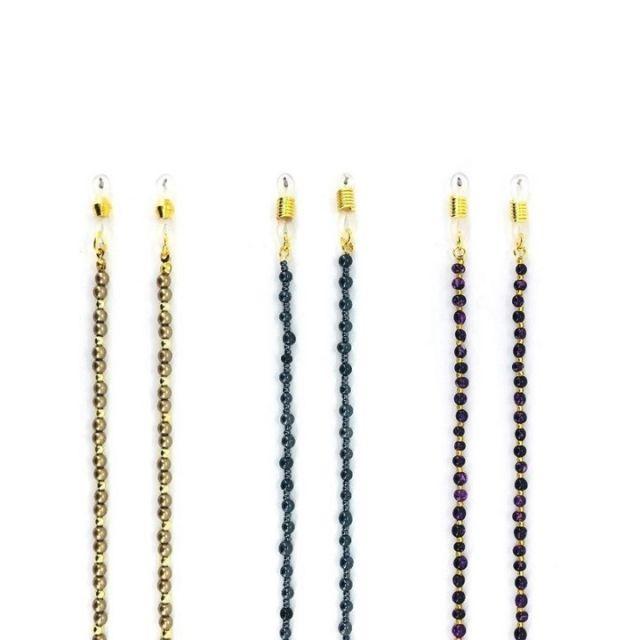 Centrostyle 时尚珠链设计眼镜链ZCSS-096