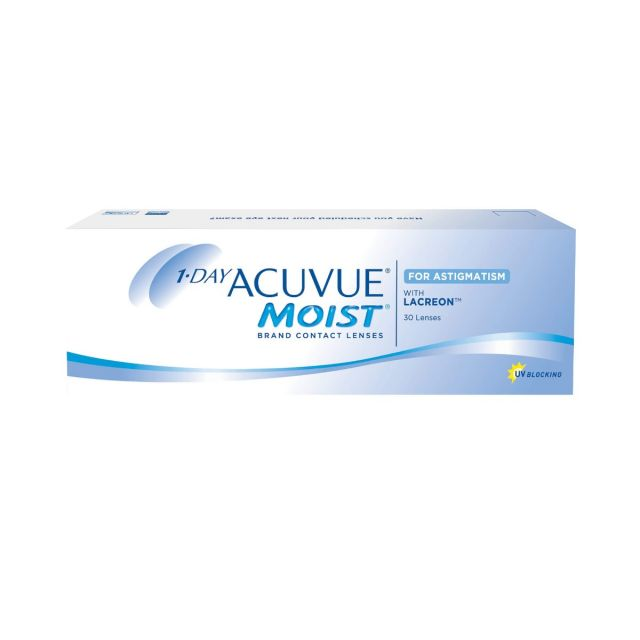 1-Day ACUVUE MOIST for ASTIGMATISM 8.5 隱形眼鏡