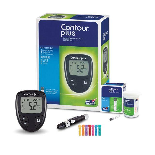 Contour Plus®血糖機套裝
