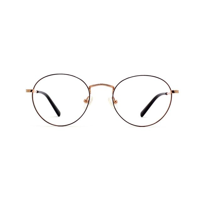 【親子系列】MASUKU復古金屬眼鏡架(成人) FMS-2174P