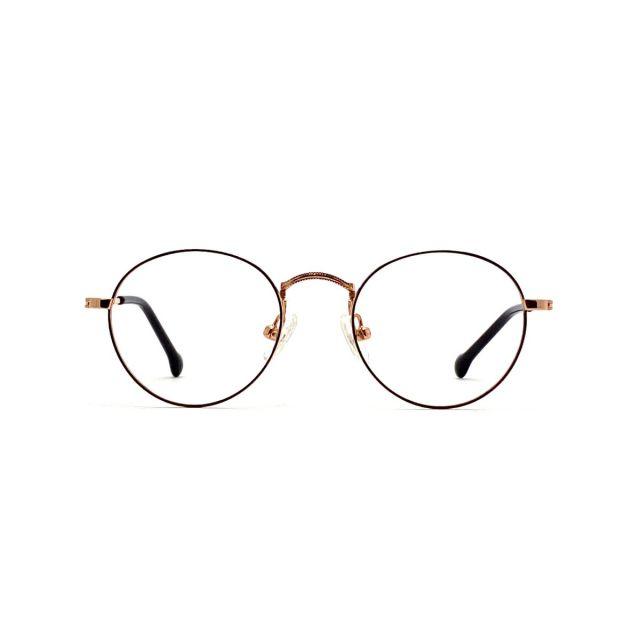 【親子系列】MASUKU復古金屬眼鏡架(兒童) FMS-2194P