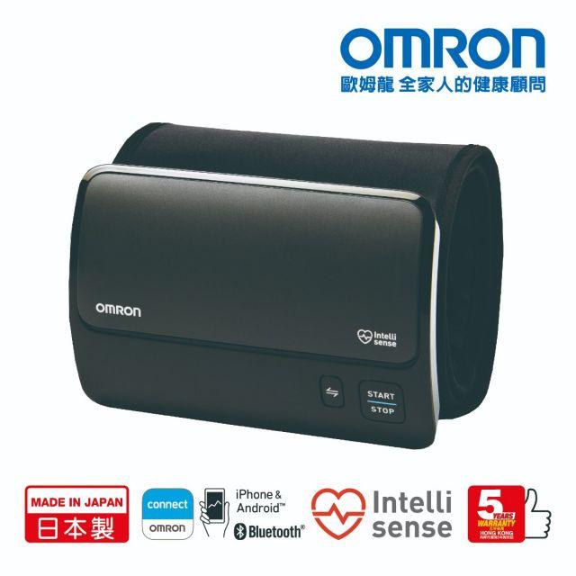 歐姆龍OMRON 藍牙智能一體式手臂血壓計 (HEM-7600T) 【日本製】