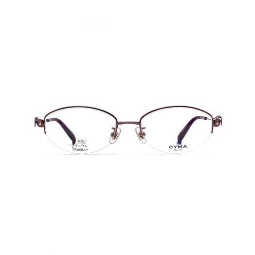 CYMA椭圆形半框眼镜架FCM-2004