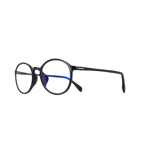 interlude Blue Block Glasses FIT-1948R-Black