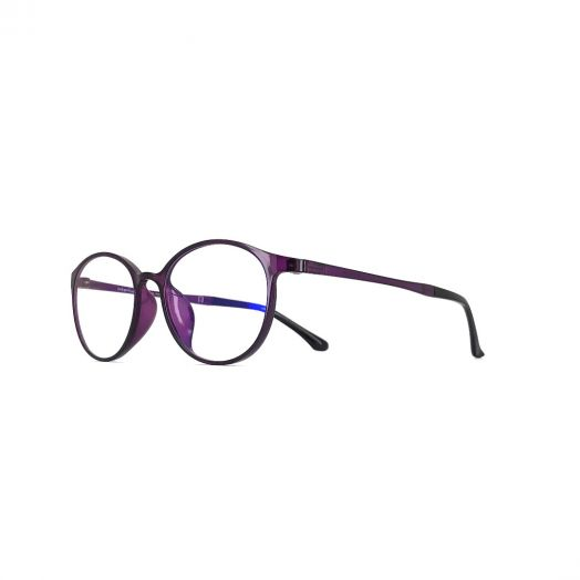interlude Blue Block Glasses FIT-1947R-Purple