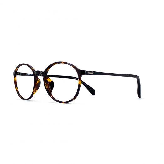interlude Blue Block Glasses FIT-1948R-Tortoiseshell