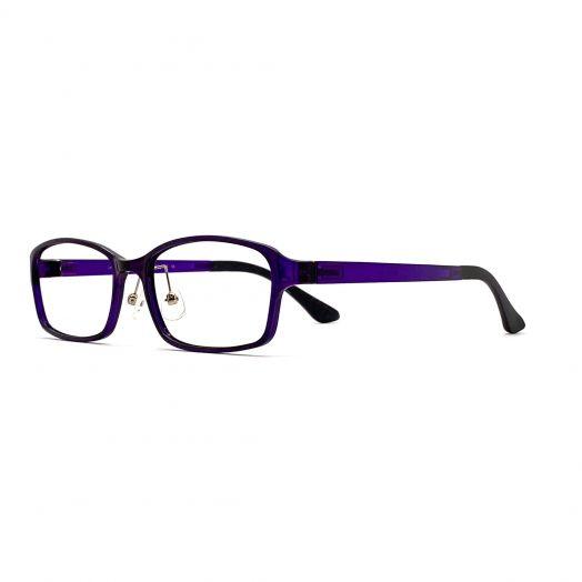 interlude Blue Block Glasses FIT-1937RP2-Deep Purple