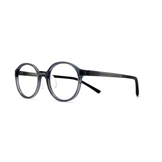 interlude Glasses For Kids FIT-2133P-Transparent Gray Frame With Gray Temple