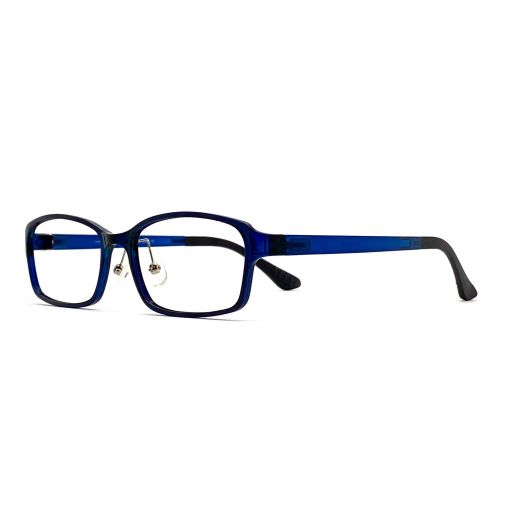 interlude Blue Block Glasses FIT-1937RP2-Navy
