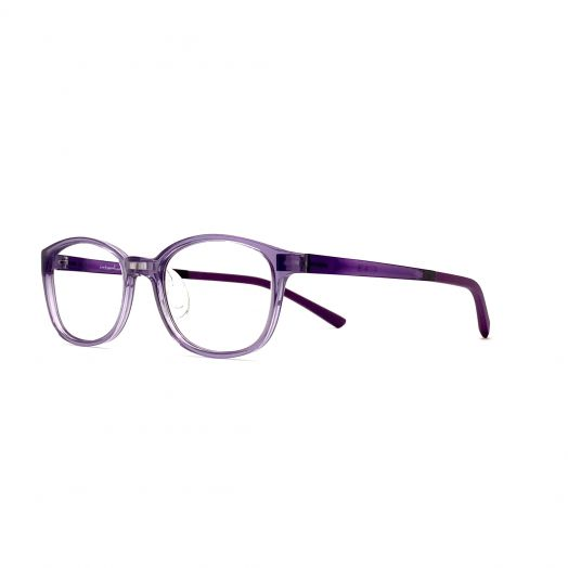 interlude Glasses For Kids FIT-2134P-Transparent Purple Frame With Purple Temple