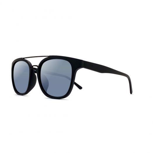 MyOB Stylish Sunglasses SMYB-1807-Black Frame With Silver Lens