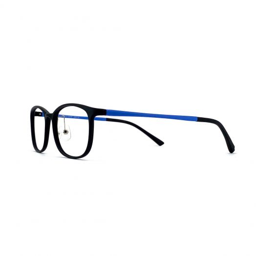 interlude Blue Block Glasses FIT-1945RP/FIT-1845R-Black Frame With Blue Temples