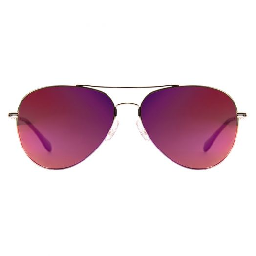 SOLVIL ET TITUS Classic Aviator Mirrored Lens Sunglasses STS-1707P