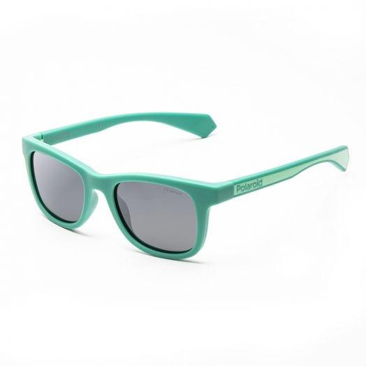 POLAROID SUNGLASSES - 8031S-Green Frame With Gray Lens