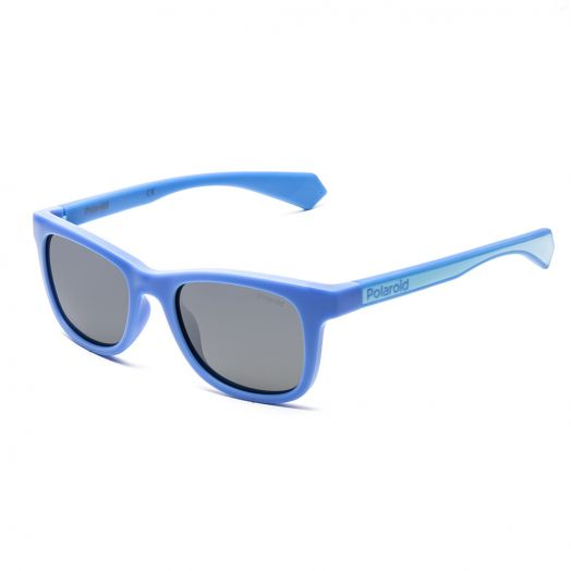 POLAROID SUNGLASSES - 8031S-Blue Frame With Gray Lens