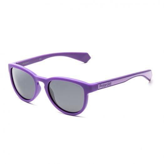 POLAROID SUNGLASSES - 8030S - Purple Frame With Gray Lens