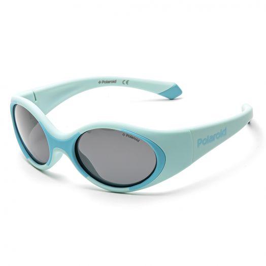 POLAROID SUNGLASSES - 8037S-Blue Frame With Gray Lens