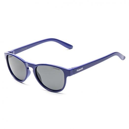 POLAROID KID SUNGLASSES - 8029S -Purple Frame With Gray Lens