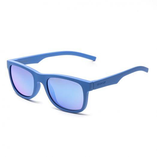 POLAROID KID SUNGLASSES - 8020S - ZDIJY - 46-Blue Frame With Blue Lens