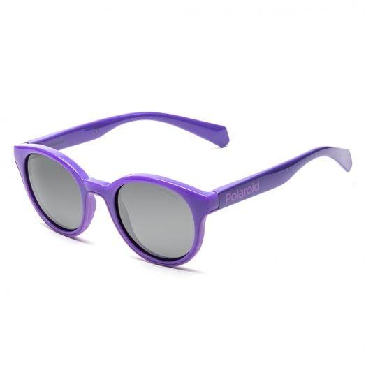 POLAROID SUNGLASSES - 8036S-Purple Frame With Gray Lens