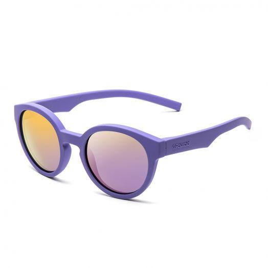 POLAROID SUNGLASSES - 8019SSM-Purple Frame With Purple Lens