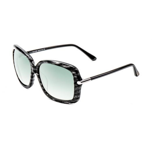 TOM FORD SUNGLASSES - TF9323-Gray Frame With Gray Lens