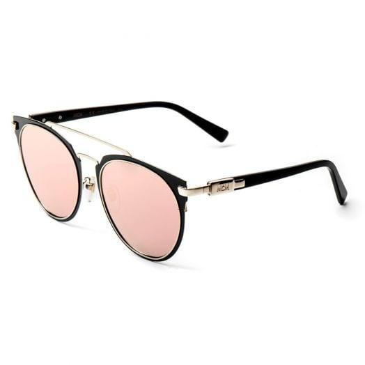 MCM SUNGLASSES - 122SA-Black Frame With Pink Lens