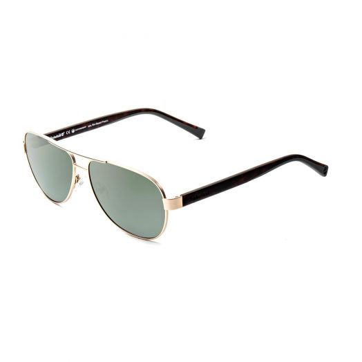 TIMBERLAND SUNGLASSES - 9144-Gold Frame With Green Lens