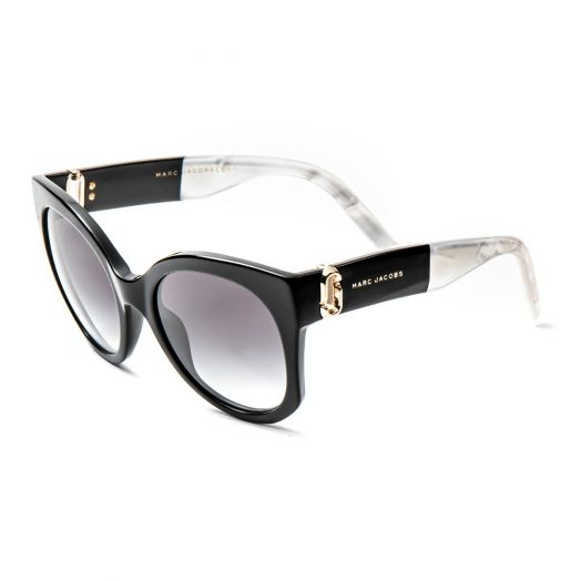 MARC JACOBS SUNGLASSES - 247S-Black Frame With Gray Lens