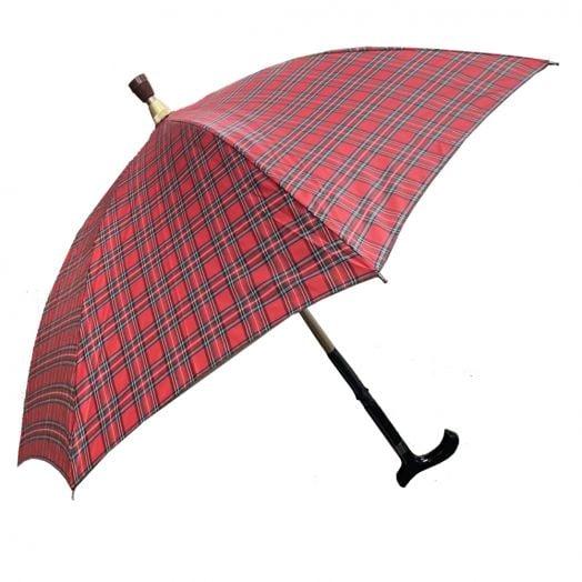 【娇小款】安全耐重二合一分离式防风手杖伞/拐杖伞