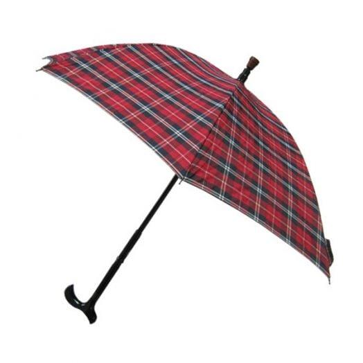 安全耐重银发族专用二合一分离式防风手杖伞/拐杖伞/拐杖雨伞/拐杖+雨伞