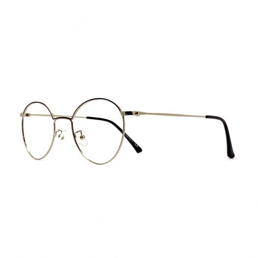 MyOB Stylish Frame FMYB-1950A-Silver Black