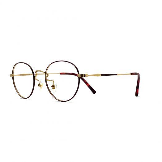 SOLVIL ET TITUS Stylish Frame FTTS-1919-Gold Red