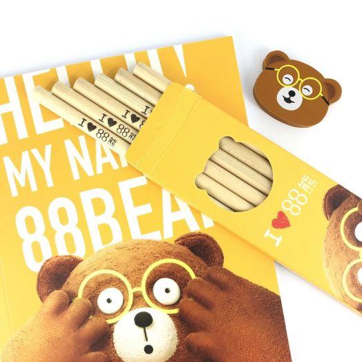 88 Bear Stationery Set