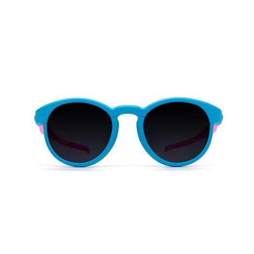 88 KIDS兒童磨砂圓框寶麗萊防UV太陽眼鏡SKS-1902