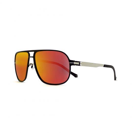 LAB Stylish Mirror Aviator Sunglasses SLAB-1703-Red