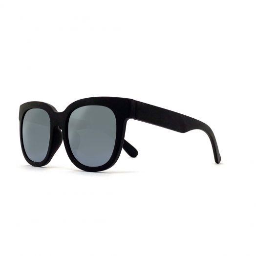MyOB Stylish Classic Sunglasses SMYB-1824-Black Frame With Gray Lens
