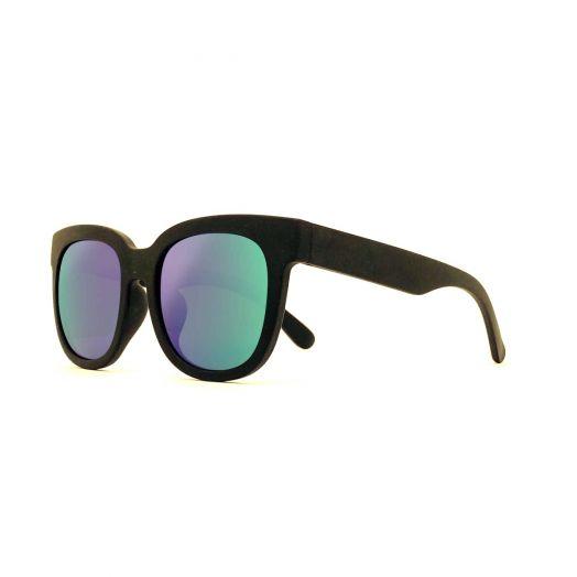 MyOB Stylish Classic Sunglasses SMYB-1824-Black Frame With Green Lens