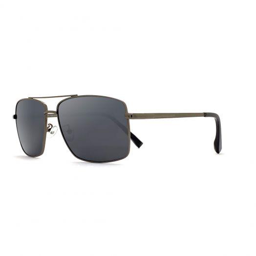 MyOB Stylish Sunglasses SMYB-1903A-Gunmetal Frame With Gray Lens
