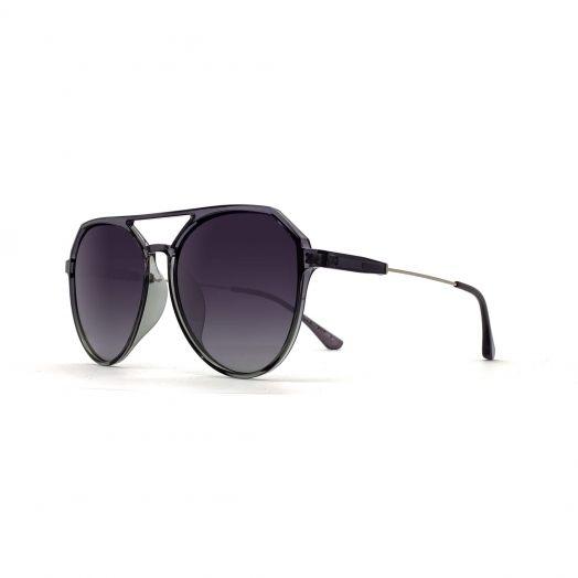 MyOB Stylish Sunglasses SMYB-1905A-Gray Frame With Gray Lens