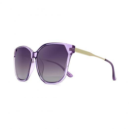 MyOB Stylish Sunglasses SMYB-1907A-Purple Frame With Purple Lens