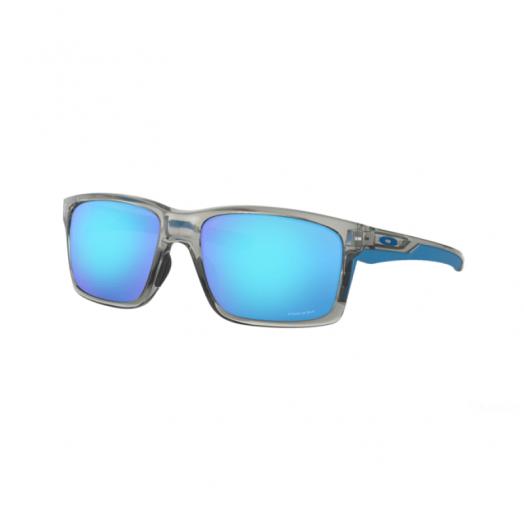 Oakley SUNGLASSES - MAINLINK - 9264 - 61-Gray Frame With Blue Lens