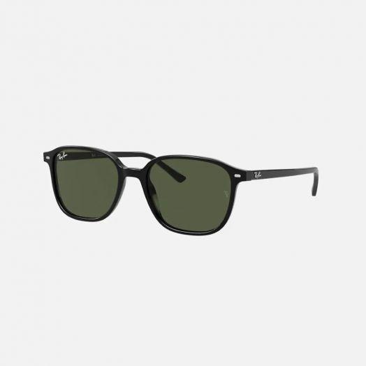 Ray-Ban LEONARD 太陽眼鏡 SRA1-2193F 黑色框/綠色鏡 RB2193F 901/31 55-27