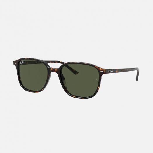 Ray-Ban LEONARD 太陽眼鏡 SRA1-2193F 啡色框/綠色鏡 RB2193F 902/31 55-27