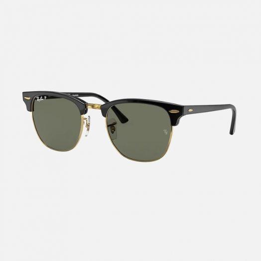Ray-Ban CLUBMASTER 寶麗萊 太陽眼鏡 SRA1-3016F 黑色框/綠色鏡 RB3016F 901/58 55-19