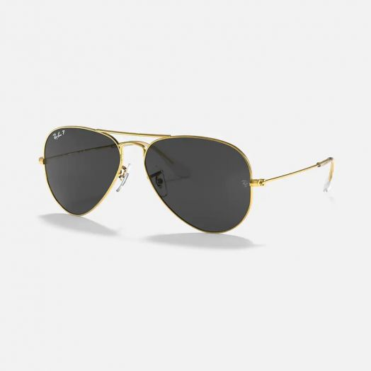 Ray-Ban  AVIATOR 寶麗萊 太陽眼鏡 SRA1-3025-58 金色框/灰色鏡 RB3025 919648 58-28