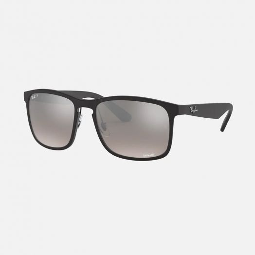 Ray-Ban 寶麗萊 太陽眼鏡 SRA1-4264 黑色框/灰色鏡 RB4264 601S5J 58-18