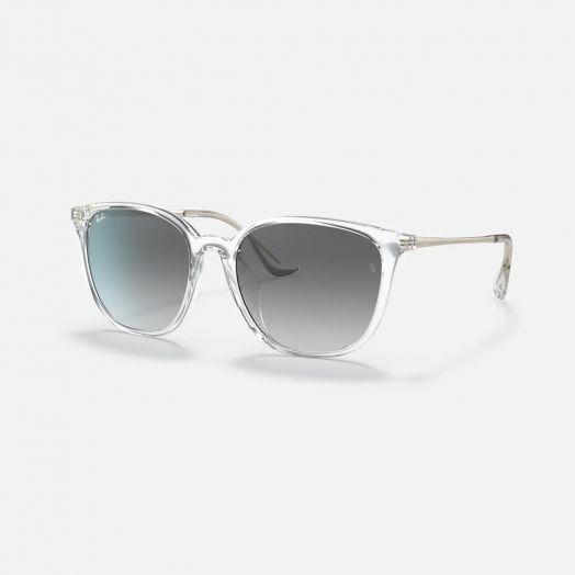 Ray-Ban 太陽眼鏡 SRA1-4348D 透明框/灰色鏡 RB4348D 644711 57-18