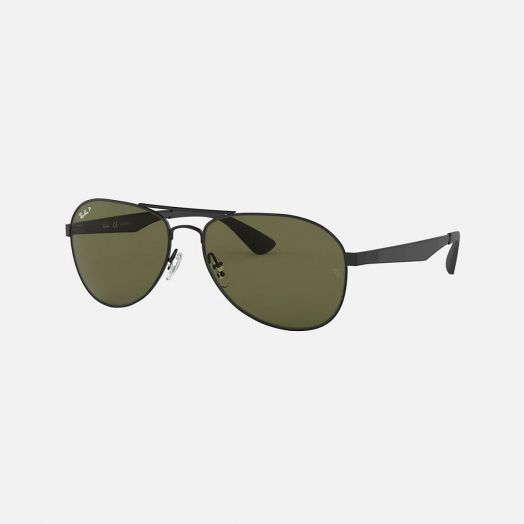Ray-Ban 寶麗萊 太陽眼鏡 SRB-3549 黑色框/綠色鏡 RB3549 006/9A 61-16